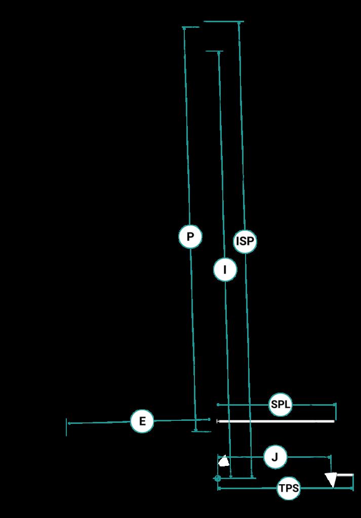 Segelflächen-Segelplan-Segelriss