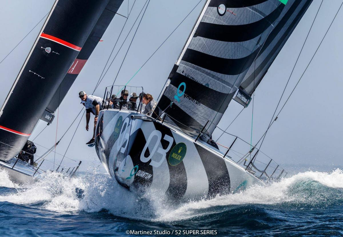 Quantum Racing_TP52 Weltmeister 2018-Upwind
