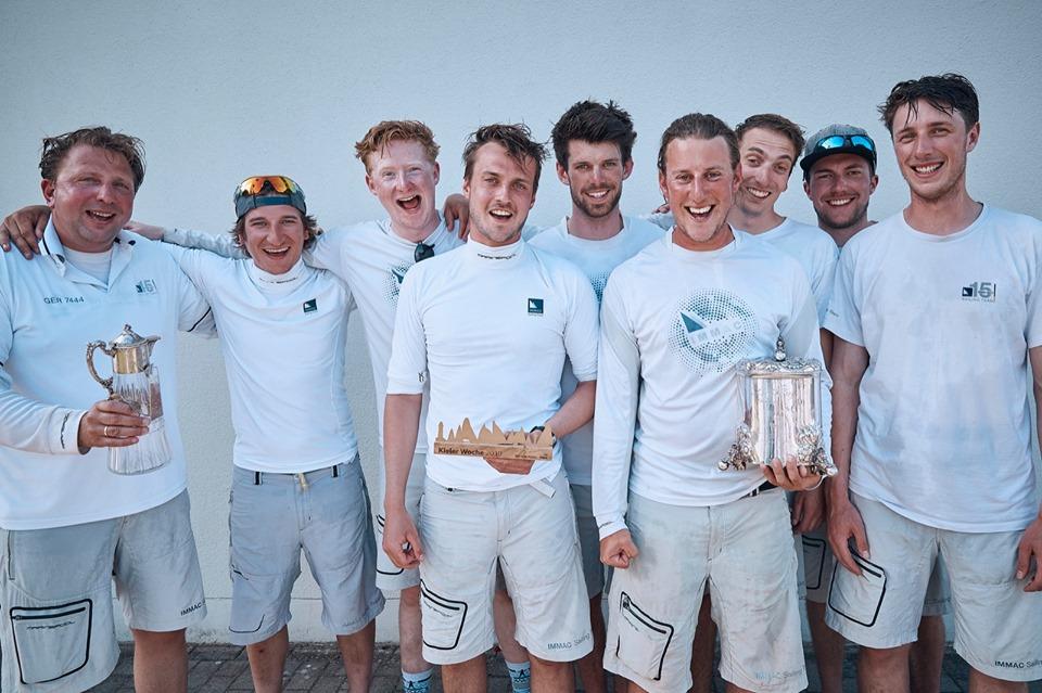 Immac Fram Crew gewinnt Kieler Woche Kiel Cup