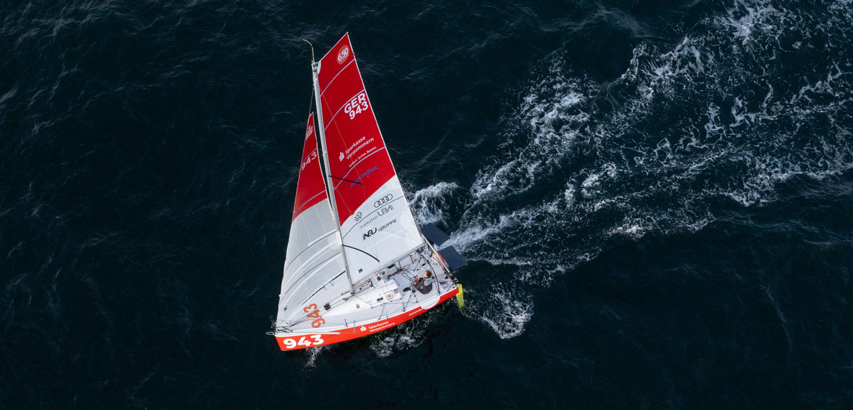 Lennart Burke Mini Transat 2021 Quantum Sails